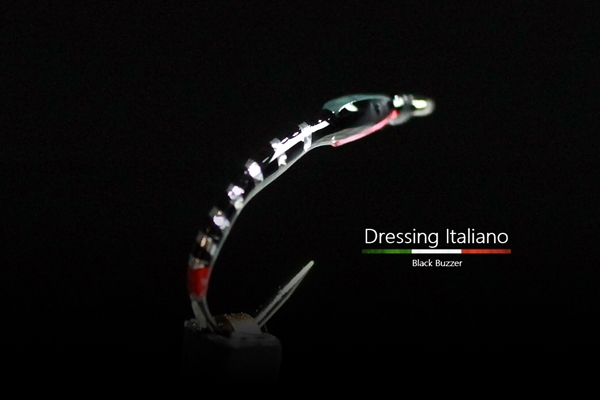 Black buzzer dressing italiano13